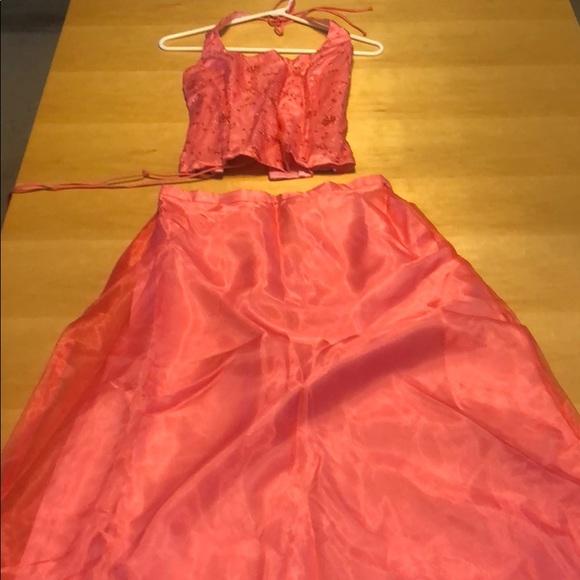 Blondie Nites Dresses & Skirts - Formal 2 piece halter dress